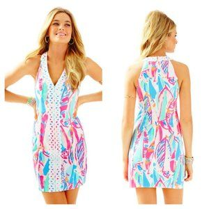 NWT Lilly Pulitzer Lynn Shift Dress in Out to Sea